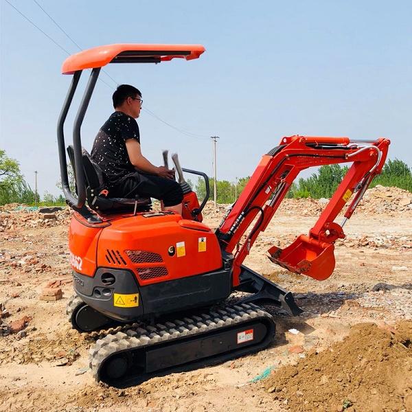 小型挖掘机动力系统各部件选型
